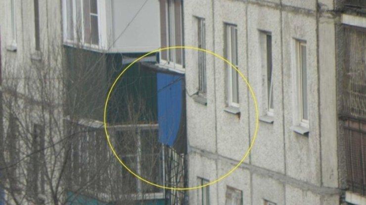 В Чите вертолет случайно выстрелил по жилому дому
