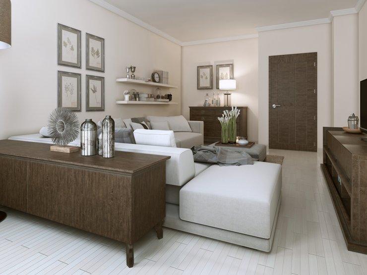 Как в небольшой квартире создать модный и удобный интерьер