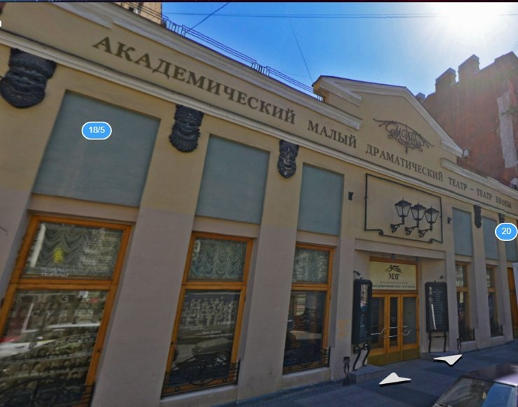 Суд приостановил стройку новой сцены МТД в Петербурге