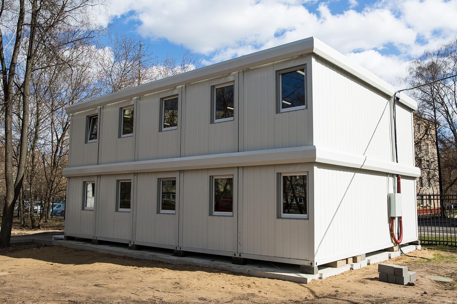 Здания для персонала Городской клинической больницы №52 возвели в рекордные сроки