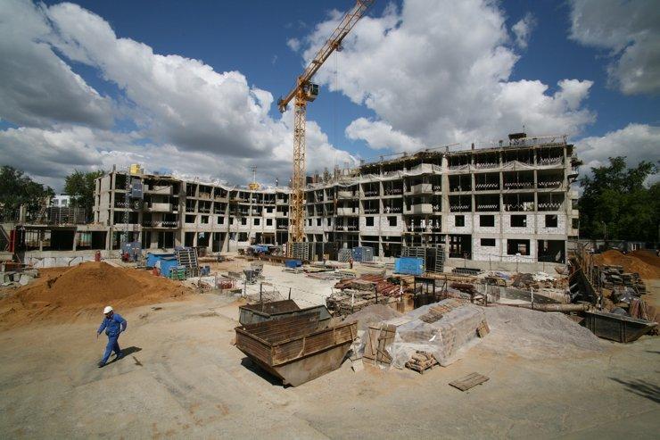 В Подмосковье утвердили стандарт работы на строительных площадках