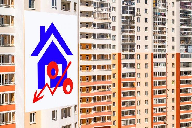 В апреле число ипотечных сделок в столице упало в 4 раза