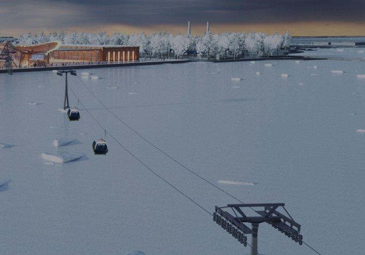 В Санкт-Петербурге появится первая канатная дорога