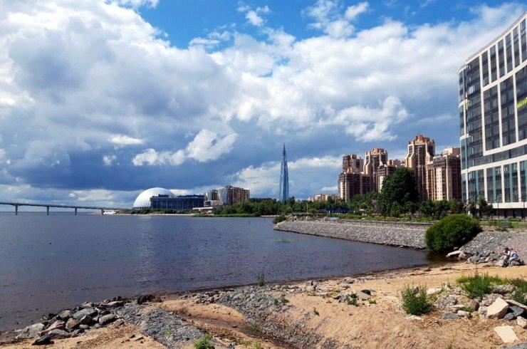 Приморский район: по соседству с небоскребом