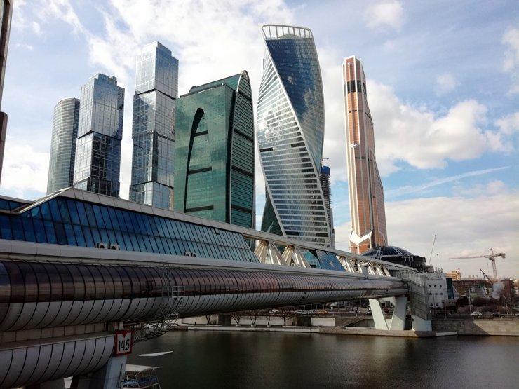 Каждый пятый офис в «Москва-Сити» арендуют зарубежные компании