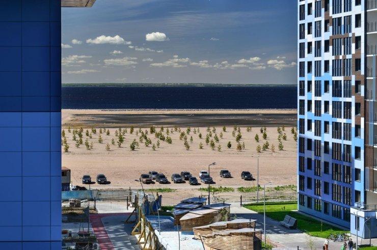 Намывные территории Петербурга: остров контрастов