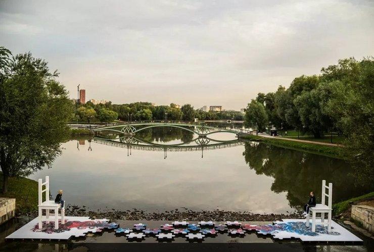 В Царицыно появится арт-объект, посвященный взаимоотношениям во время пандемии