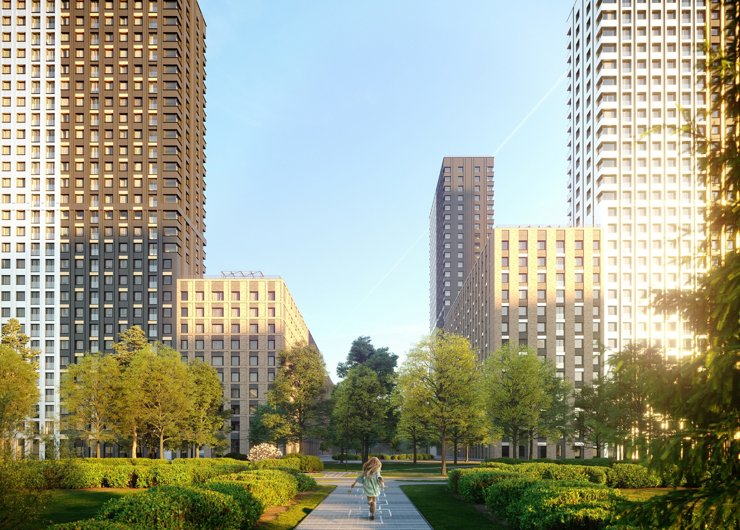 В «Прогрессивных жилых кварталах Balance» стоимость 1 кв. м выросла на 58%
