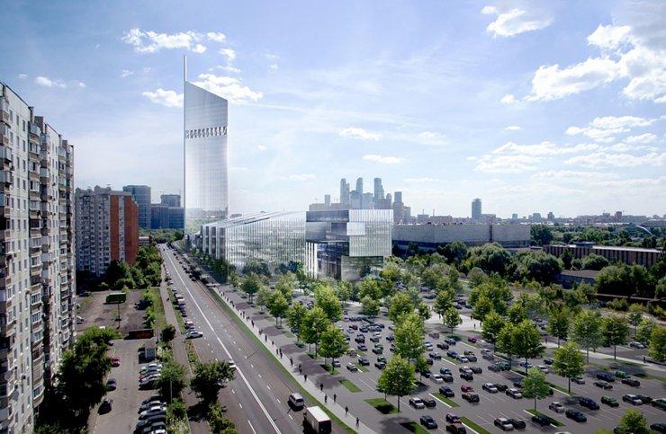 В 2020 году начнется строительство башни Национального космического центра