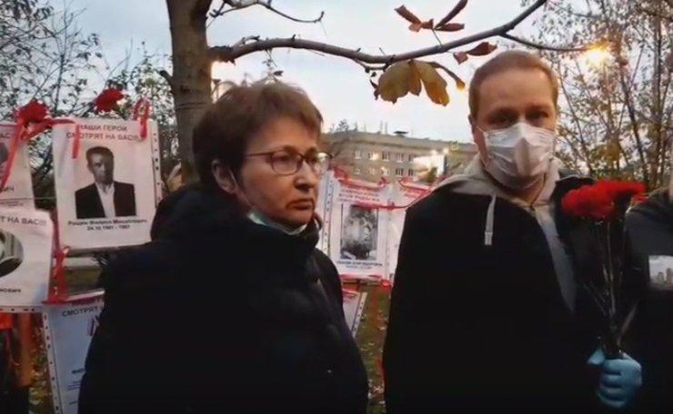 В Академическом районе потомки ветеранов ВОВ провели градозащитную акцию «Бессмертный сквер»