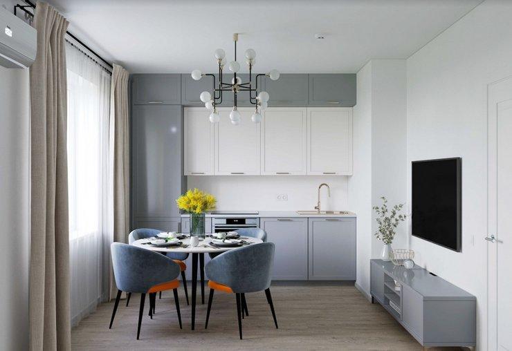 Россияне готовы вместе с квартирами покупать в ипотеку готовые кухни