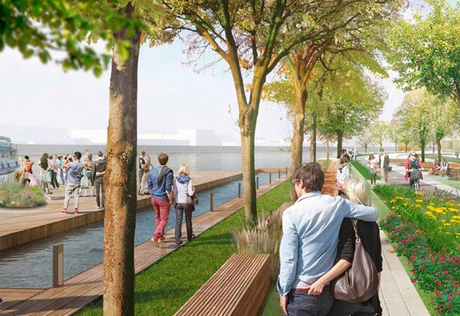 В 2022 году будет завершена реконструкция Крутицкой набережной