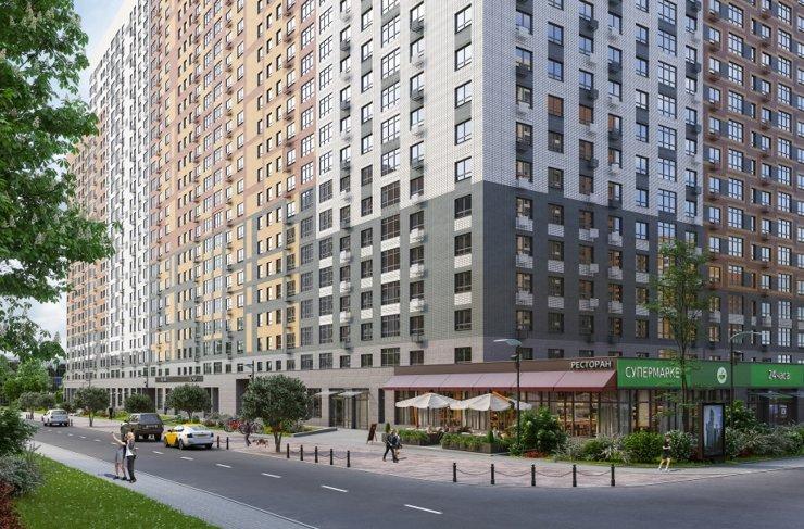 ГК ФСК проведет аукцион по продаже коммерческих площадей в ЖК «Южная Битца»