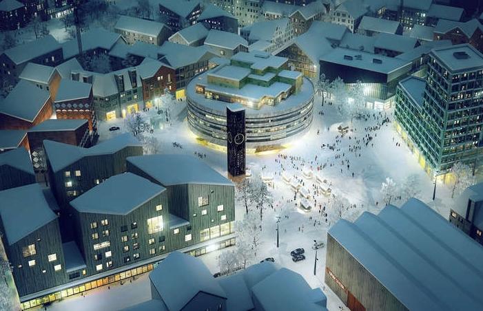 В Швеции переместят на новое место целый город