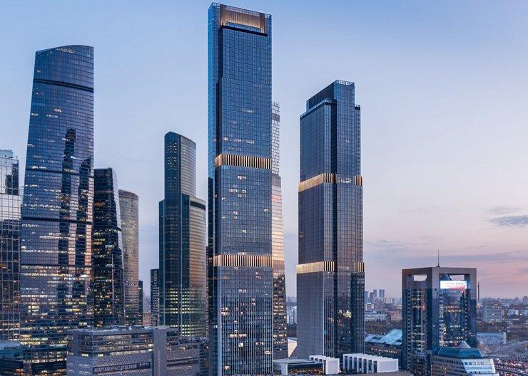 В Москве построен второй небоскреб Neva Towers
