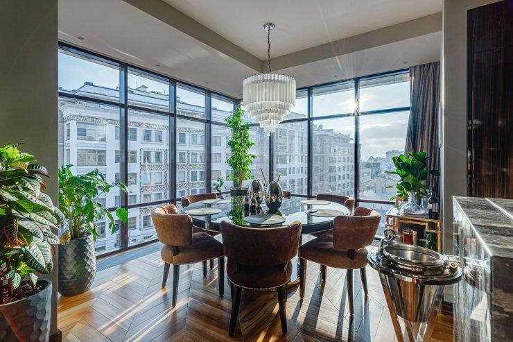 Названа общая стоимость 100 самых дорогих московских квартир
