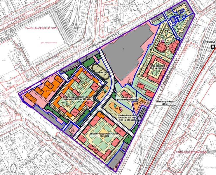 На месте «Горбушки» разрешили построить более 500 тыс. кв. м недвижимости