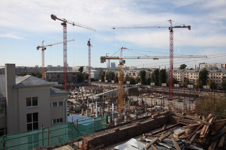 Темпы строительства жилья замедлились
