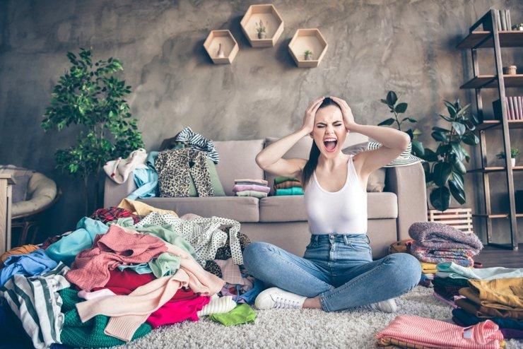 Идеи для хранения вещей в гостиной, спальне, прихожей и на кухне
