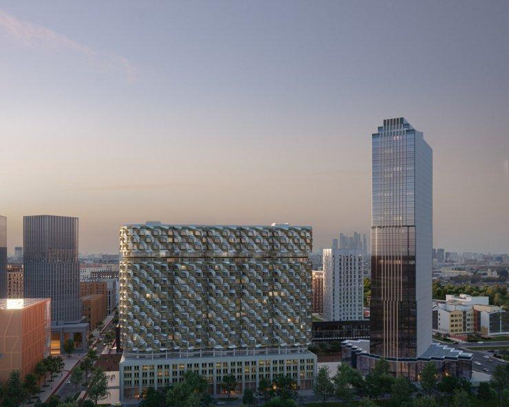 В Москве построят стеклянную башню и дом-«бриллиант»
