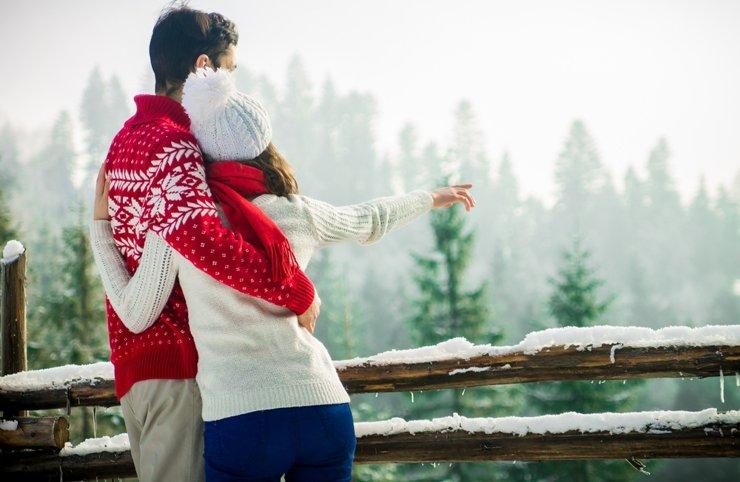 С милым рай и в шале: где отметить День всех влюбленных