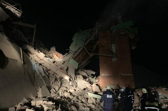На фабрике в Норильске произошло масштабное обрушение