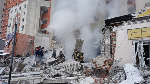 В Нижнем Новгороде произошел взрыв в кафе, пристроенном к жилому дому