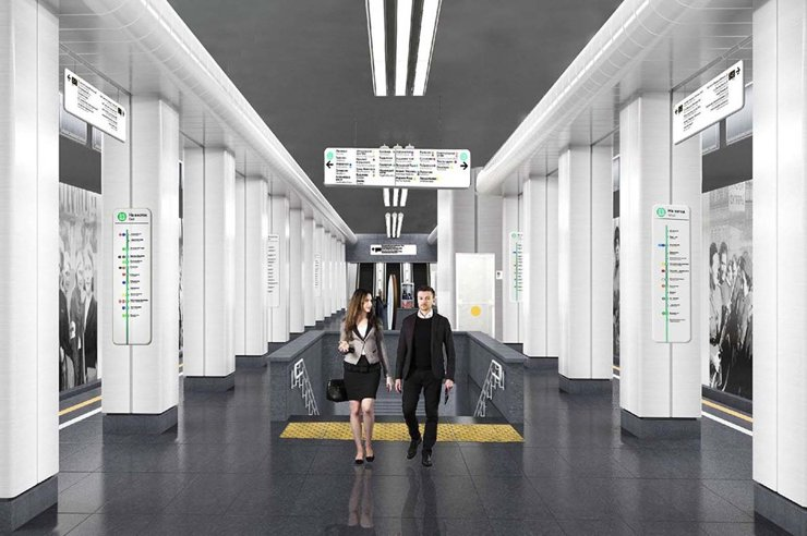 До конца марта в Москве откроют станции метро «Карамышевская» и «Мневники»