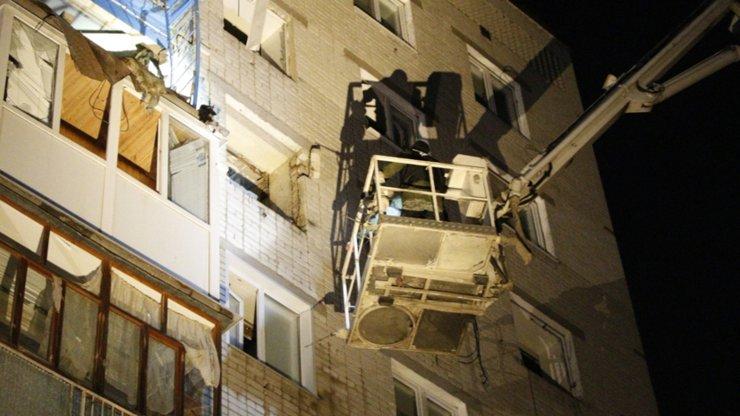 В Татарстане взрывом газа разрушено семь квартир в девятиэтажном доме