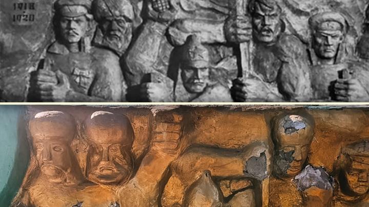 Мемориал в Катайске отреставрировали до неузнаваемости