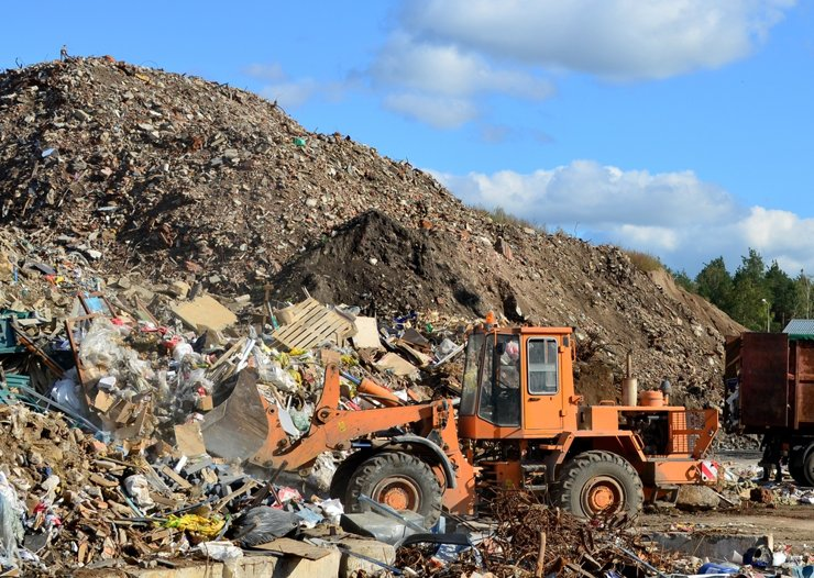 В Подмосковье свезут миллионы тонн строительного мусора