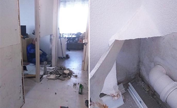 Жители реновационной новостройки в Перово жалуются на плесень