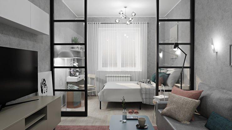 Как грамотно зонировать компактную квартиру: советы дизайнера