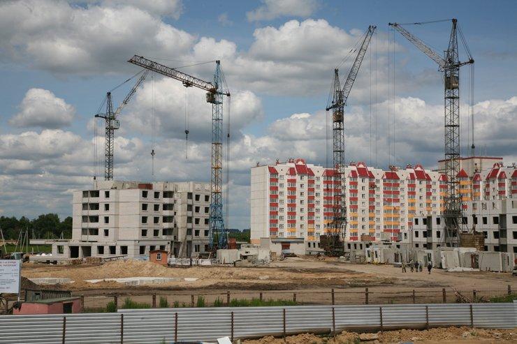 В первом квартале ввод жилья увеличился на 15,4%