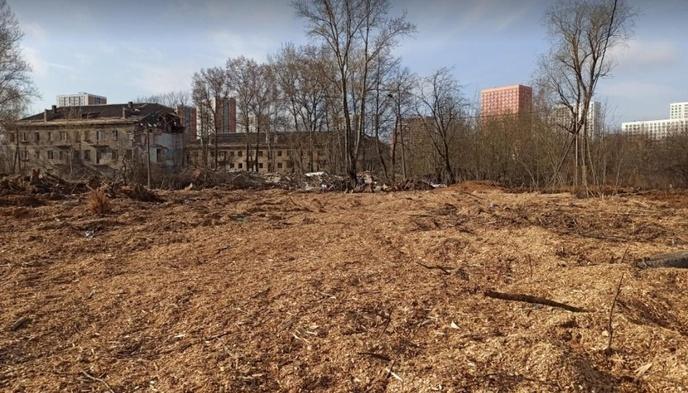 В Одинцово ради стройки уничтожили «Аллею ветеранов»