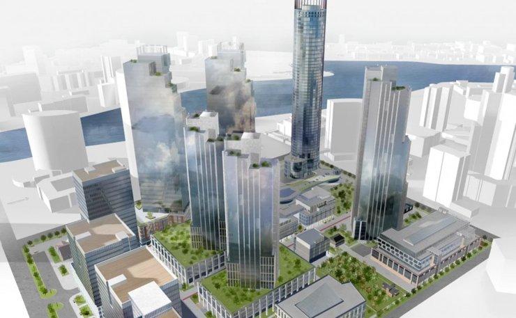 УГМК изменила проект квартала небоскребов в Екатеринбурге с учетом мнений горожан