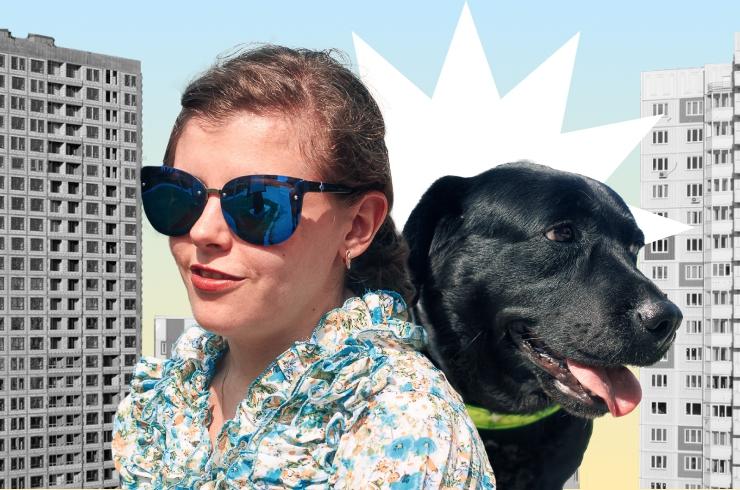 Город запахов и звуков: жизнь незрячей девушки и ее собаки в условиях мегаполиса