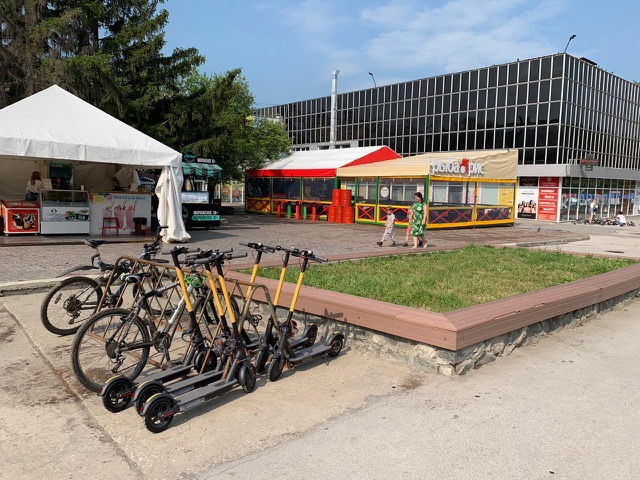 Самокатчики из Whoosh займутся развитием велодорожек в Новосибирске