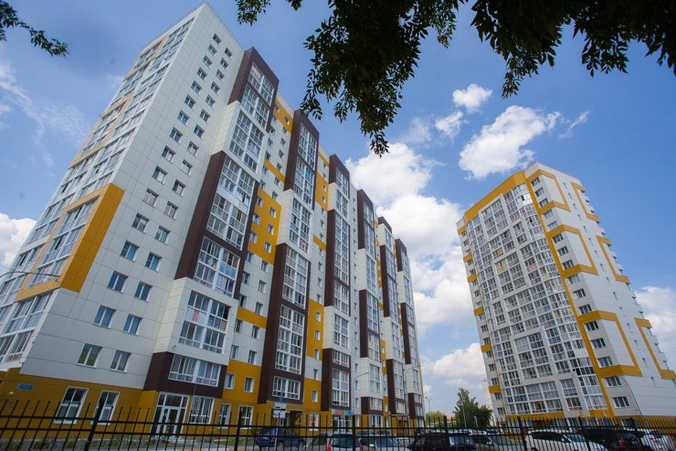 Новосибирская область стала лучшей среди регионов СФО по объему жилищного строительства