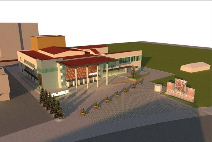 Панно с фасада концертного зала «Евразия» уберут в ходе реконструкции
