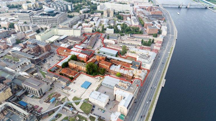 «Группа ЛСР» выкупила здание бывшего ликеро-водочного завода в Санкт-Петербурге