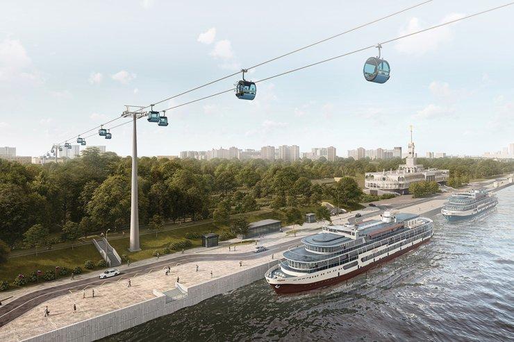 В Москве построят новую канатную дорогу