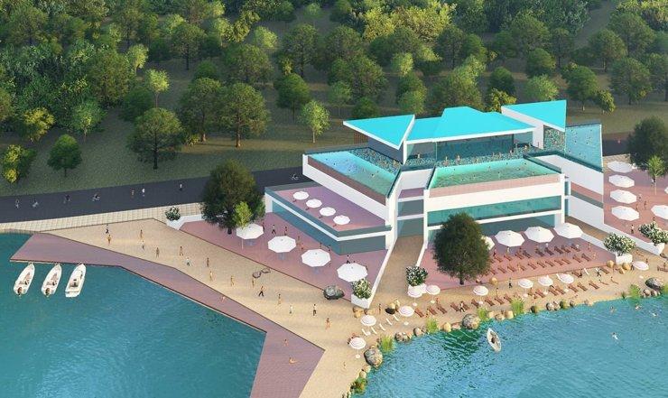 В Екатеринбурге одобрили проект строительства терм на берегу Шарташа