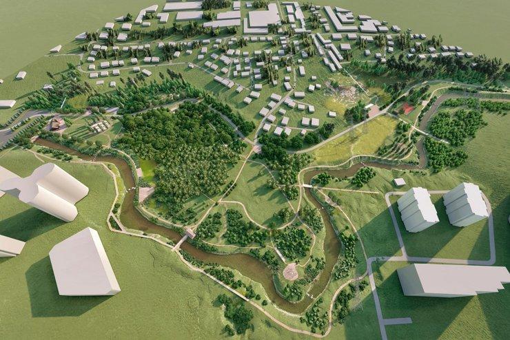 В Новосибирске появится первый в России заливной парк
