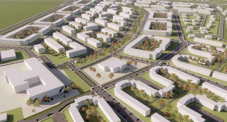 В Екатеринбурге появится новый микрорайон малоэтажной застройки