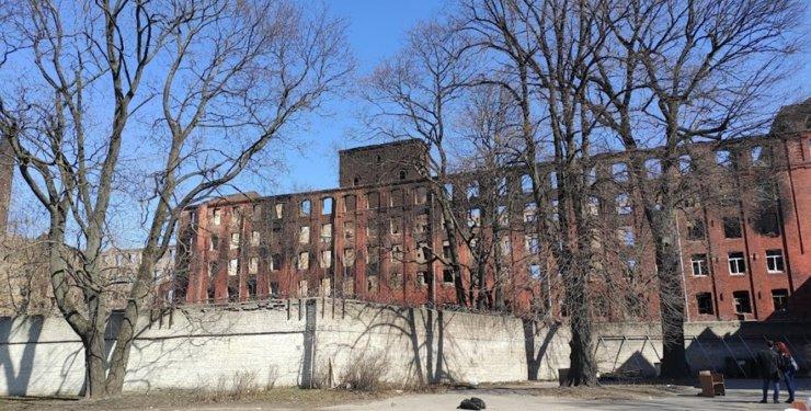 «Невская мануфактура» заплатит 1 млн руб. за сгоревший объект культурного наследия