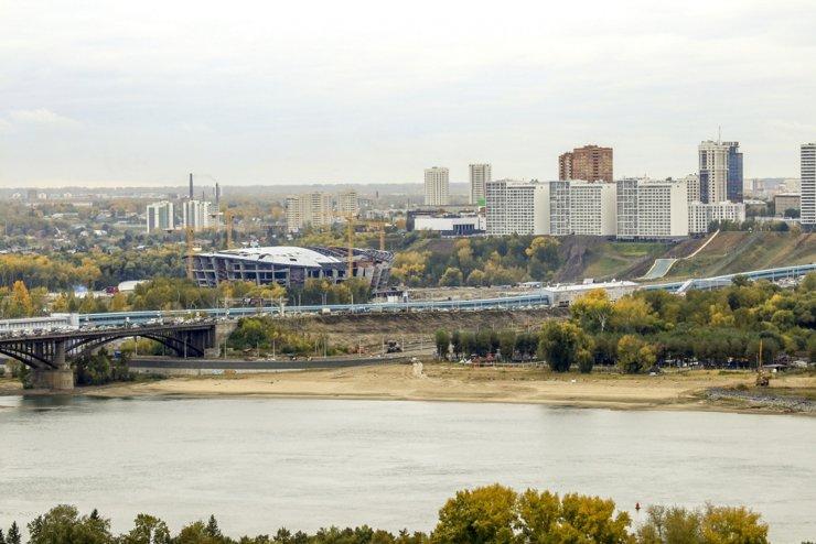 В Новосибирске на городском пляже хотят построить гостиницу с апартаментами
