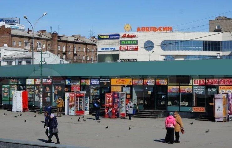 В Новосибирске выставили на продажу павильоны у железнодорожного вокзала