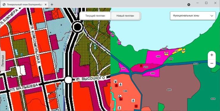 Екатеринбургские активисты создали интерактивную карту с поправками в генплан