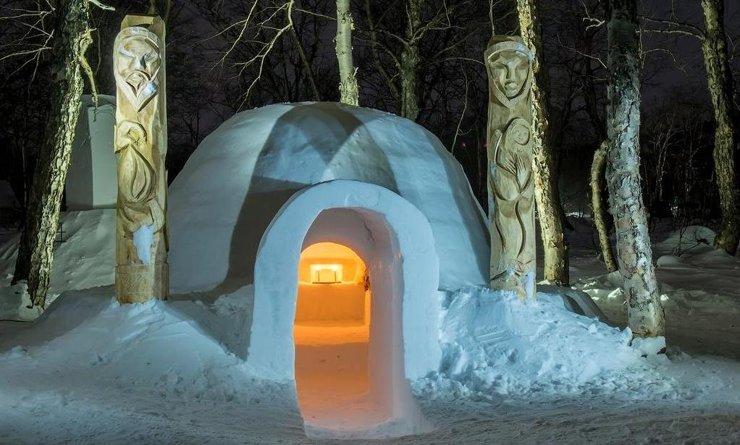 В Сочи открылась «снежная» гостиница